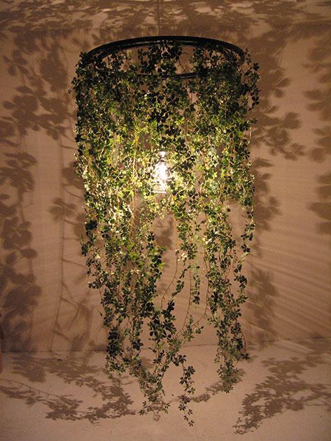葉の影をデザインしたForestiの試作品