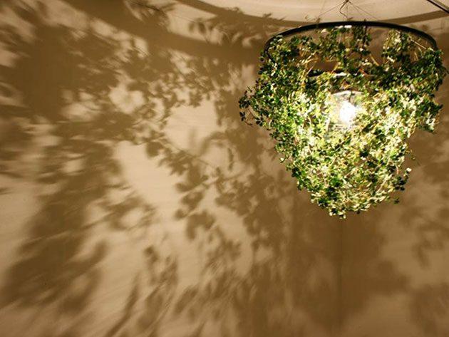 葉の影をデザインしたForesti