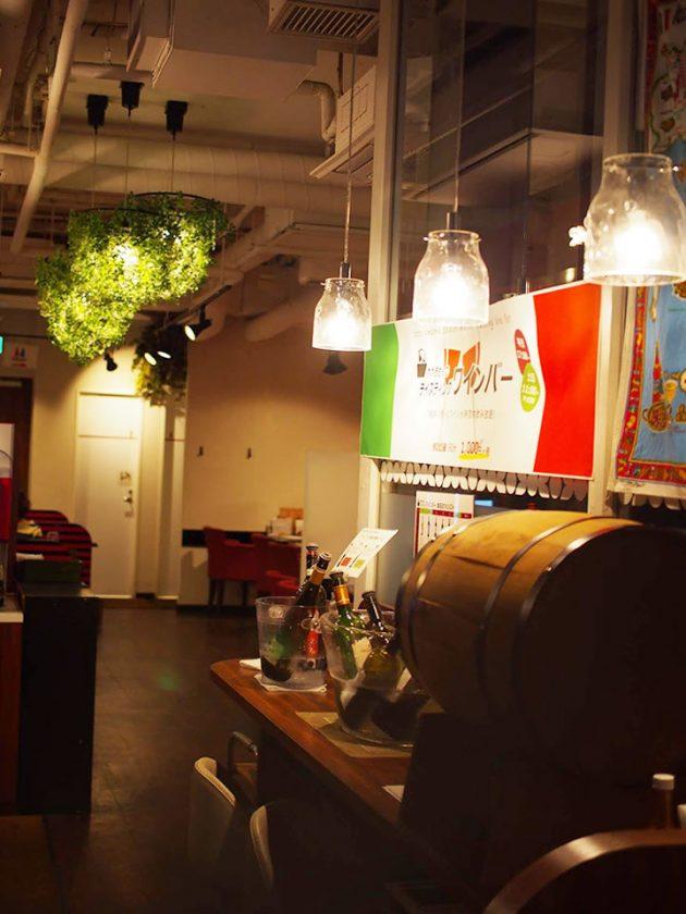 生パスタと自然派ワイン「ポポラマーマバル御徒町店」Mini-Foresti & Whitney